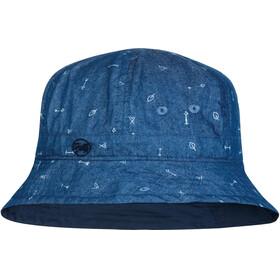 Buff Bucket Hat Kids Arrows Denim